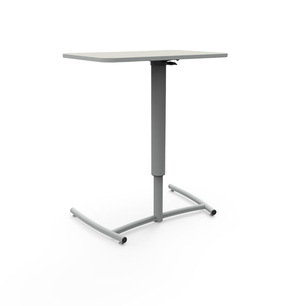 KI RUZ20E Ruckus Pneumatic Adjustable Height Mobile Desk - Free Shipping