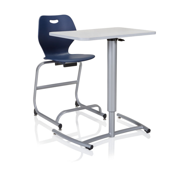 KI RUZ20E Ruckus Pneumatic Adjustable Height Mobile Desk
