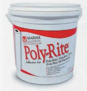 "Marsh 77-LF0-00 Poly-Rite II Dry-Erase Magnetic Wall Covering Material 48""H"
