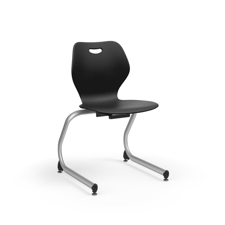 "KI IWC13 Intellect Wave Cantilever Stack Chair 13"" Seat Height"