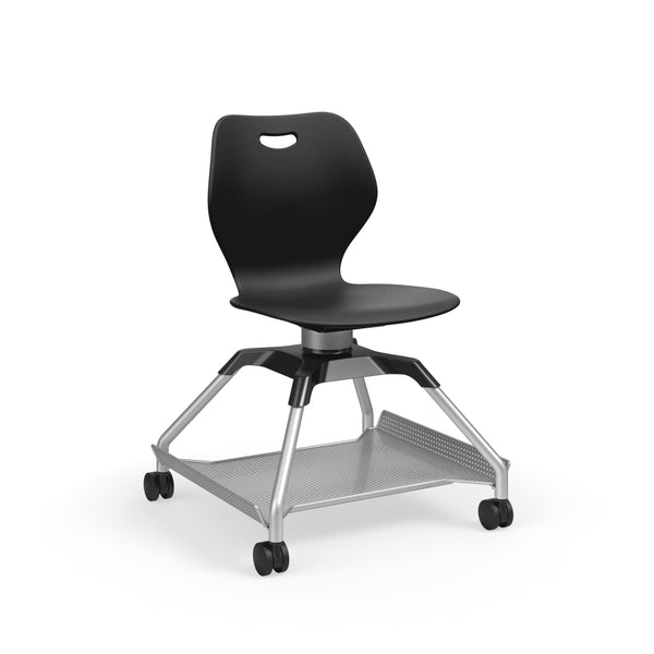 KI Learn2 L2WNP/FBR Intellect Wave Mobile Chair with Flat Accessory Rack