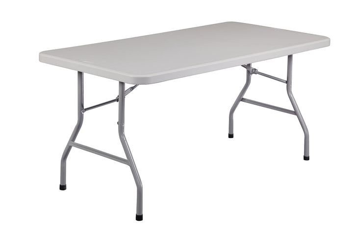 National Public Seating BT-3072 Blow Molded Rectangle Folding Table 30 x 72 - Quick Ship