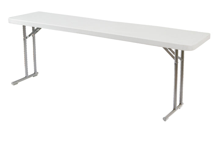 National Public Seating BT1872 Blow Molded Seminar Folding Table 18 x 72