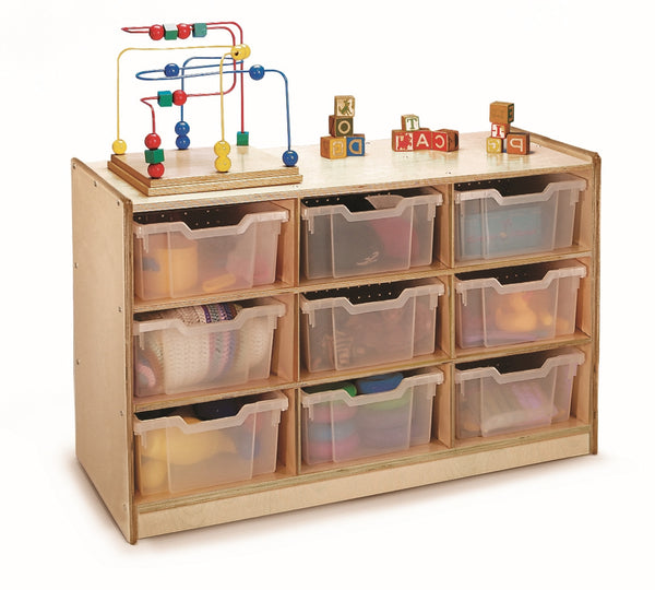 Whitney Brothers WB0909T Nine Tray Storage Cabinet