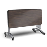 Paragon AND-CFAF2027R A&D Crossfit Adjustable Height Flip Top Single Student Desk - 20 x 27 Rectangle