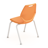 "Paragon AND-READY-4L14 A&D Ready 4-Leg Classroom Chair with Glides 14"" Seat Height"