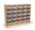 Whitney Brothers WB3225 Storage Cabinet with 25 Trays