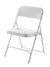 National Public Seating 800 Series Blow Molded Premium Plastic Folding Chair - Pack of 4