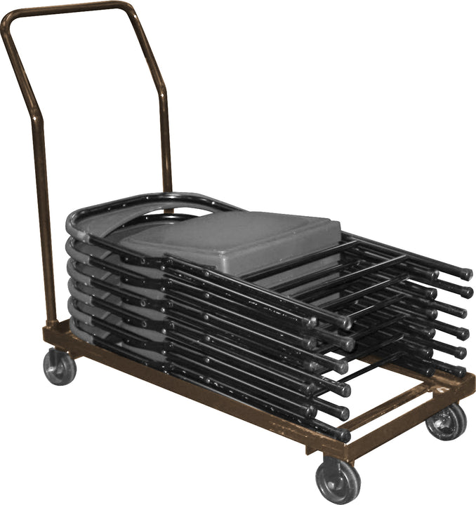 National Public Seating DY-800 Folding Chair Dolly For 800 Series Chairs