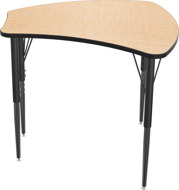 Balt 90580 Economy Shapes Adjustable Height Desk