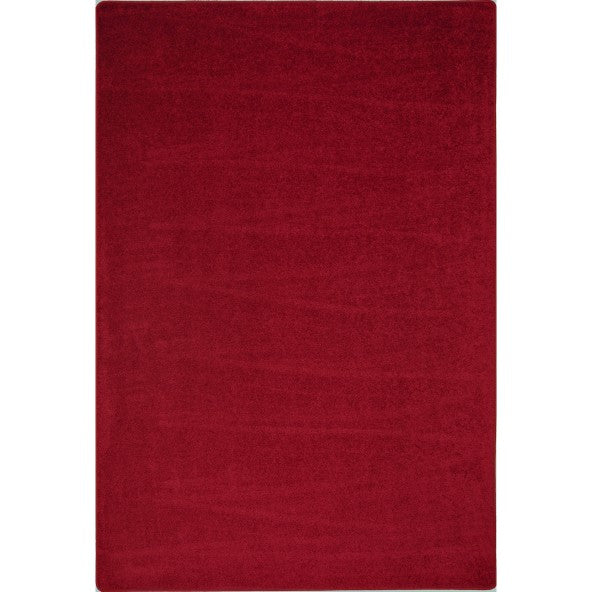 Joy Carpets 80 Endurance Solid Color Area Rug - Rectangle