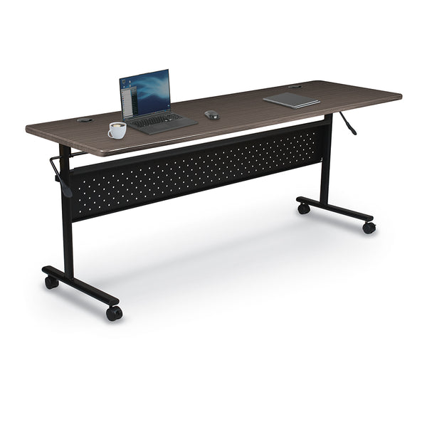 Balt 91183 Essentials Economy Flipper Training Table with Modesty Panel 24 x 72