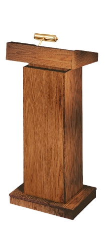 Oklahoma Sound Orator Full Size Floor Lectern w/ Adjustable Height