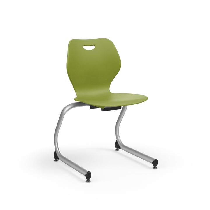 "KI IWC15 Intellect Wave Cantilever Stack Chair 15"" Seat Height - Free Shipping"