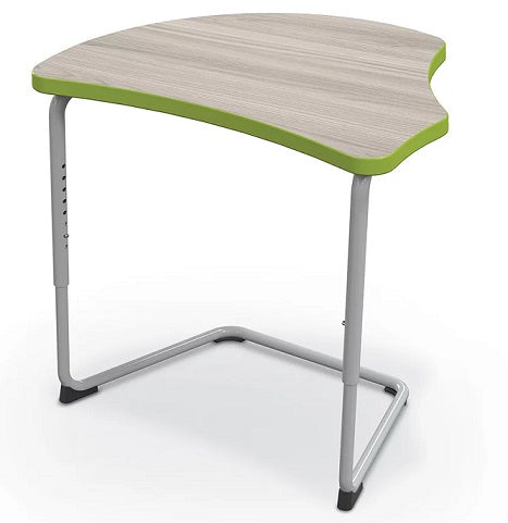 Balt 84390-A Hierarchy Classroom Cantilever Desk with Harmony Top