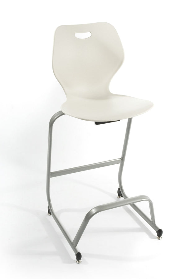 "KI IWCS30 Intellect Wave Stacking Cafe Stool 30"" Seat Height - Free Shipping"