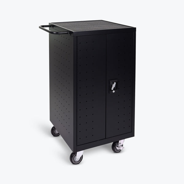 Luxor LLTP18-B Laptop and Chromebook Charging Cart For 18 Devices