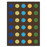 Joy Carpets 1430 Lots of Dots Area Rug - Rectangle
