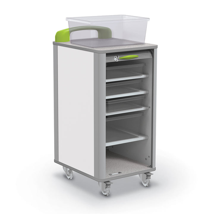 "Balt 91411 Hierarchy Makerspace Mobile Tub Storage Cart - Small 17""W"