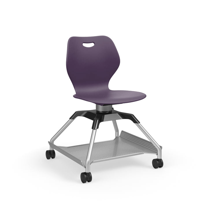 KI Learn2 L2WNP/FBR Intellect Wave Mobile Chair with Flat Accessory Rack - Free Shipping