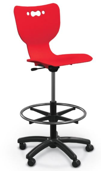 Balt 53512 Hierarchy Adjustable 5-Star Mobile Stool