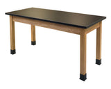 National Public Seating SLT2454 Chem Res Science Lab Table 24 x 54 - Quick Ship