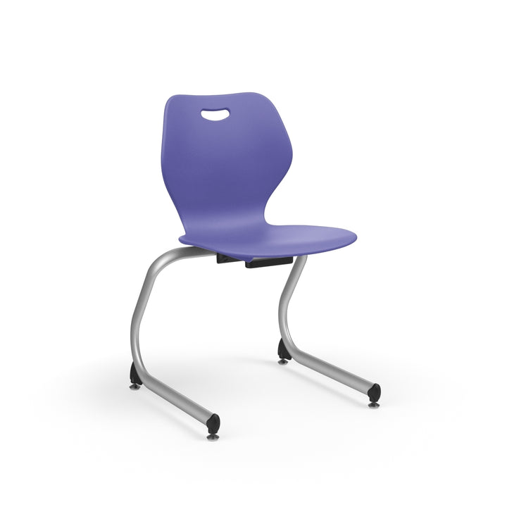 "KI IWC13 Intellect Wave Cantilever Stack Chair 13"" Seat Height - Free Shipping"