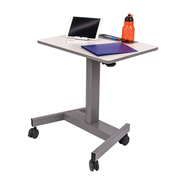 Luxor STUDENT-P Pneumatic Student Sit Stand Desk