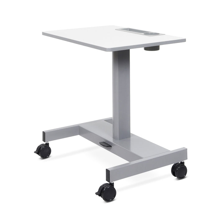 Luxor STUDENT-P-S Pneumatic Student Sit Stand Desk Elementary Height