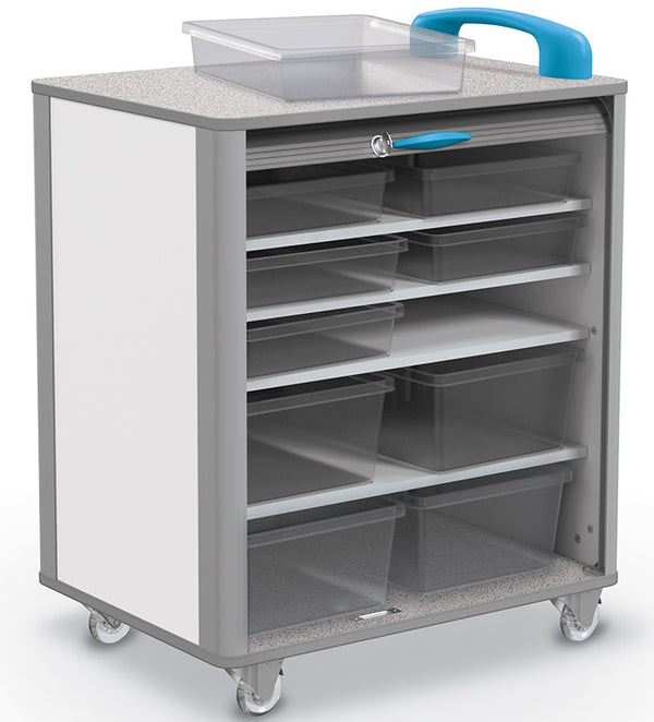 "Balt 91412 Hierarchy Makerspace Mobile Tub Storage Cart - Large 29""W"