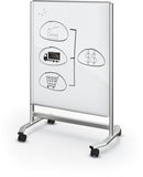 Balt 74965 Visionary Move Colors Mobile Magnetic Glass Board