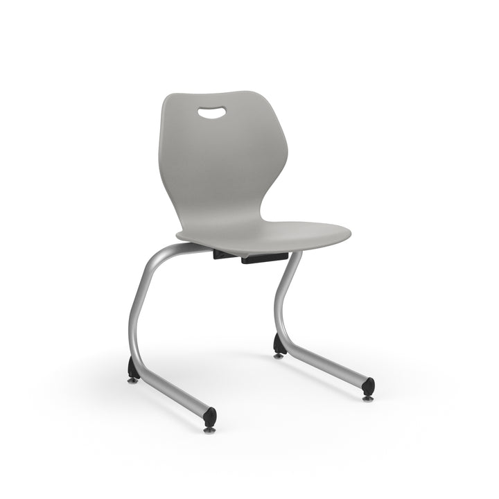 "KI IWC18 Intellect Wave Cantilever Stack Chair 18"" Seat Height - Free Shipping"