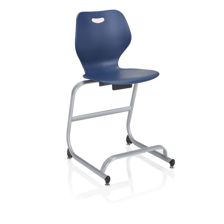 "KI IW4CS24 Intellect Wave Stacking Cafe Stool 24"" Seat Height"