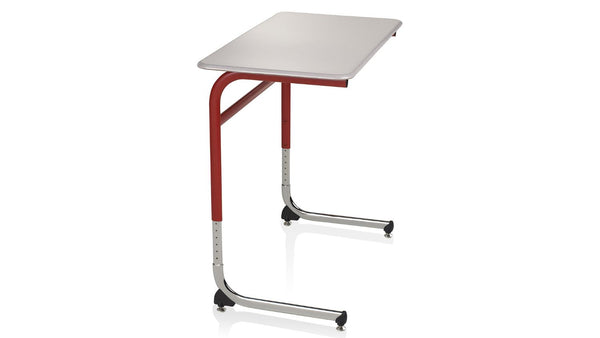 KI IWDCH/ADA Intellect Wave Cantilever Student Desk with Hard Plastic Top ADA Height