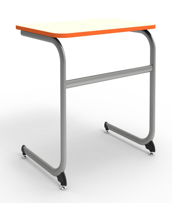 "KI IWDCL/25 Intellect Wave Cantilever Student Desk with Laminate Top Fixed 25"" Height - Free Shipping"