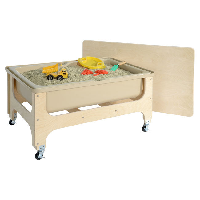 Wood Designs WD11865TN Deluxe Sand and Water Table with Lid