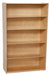 "Wood Designs WD12960 Classroom Bookshelf with 5 Fixed Shelves - 60"" Height"