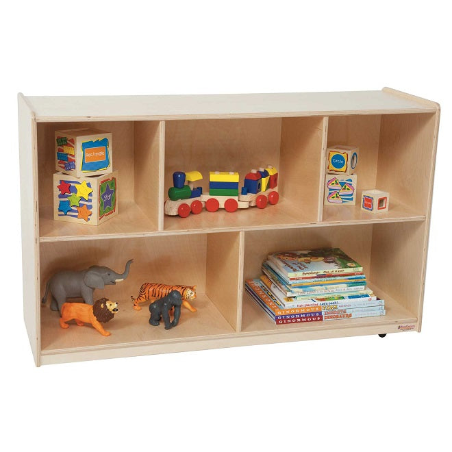 "Wood Designs WD13000 Mobile Single Storage Unit 30"" Height"