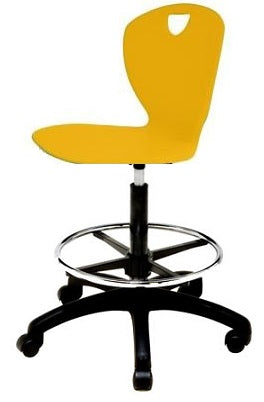 "Scholar Craft SC510LXL Thrive Adjustable Height Task Chair with Foot Ring 20"" - 28"" - Quick Ship"