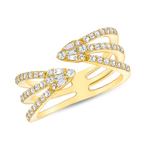 Diamond fashion ring 14k