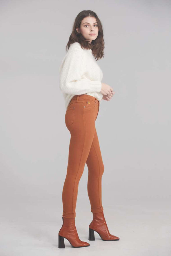 YogaJeans - jeans - rachel - 1711 - couleurs glazed ginger ou tea leaves