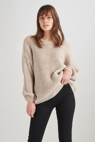 24colours - tricot - 40580 - gris - beige