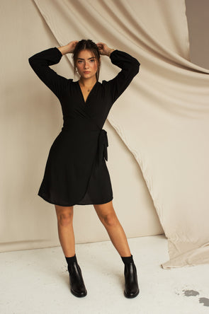 Billie Wrap Dress