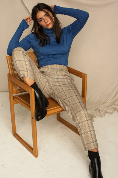 Laura pants Plaid