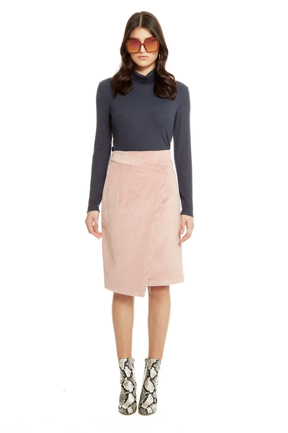 jupe- annie 50- designer quebecois- get it right- corduroy- velours cotelé
