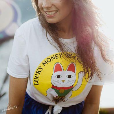 t-shirt lucky money maker