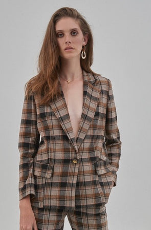 soaked in luxury- blazer- indie- check- 30404357