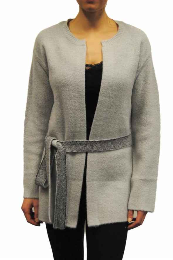 orb - veste - 93214 - candice - reversible - cardigan - grey peppered