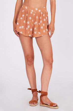 amuse society - mojito - short - confortable - orange - noir