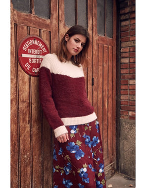 frnch- nigelle- boutique modeco- rose- bleu- tricot